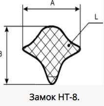 Профили для уплотнения окон кабин НТ-8, НТ-9, НТ-10, ТУ 38 1051868-88